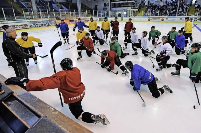 Der EHC ist zurück auf dem Eis