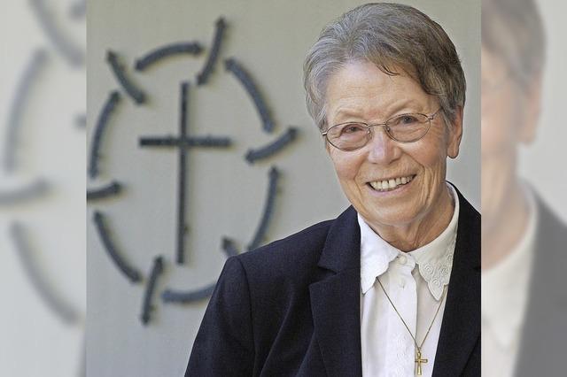 Seit 50 Jahren ist Annette Nuber für die Evangelische Kirche tätig - auch im Ruhestand
