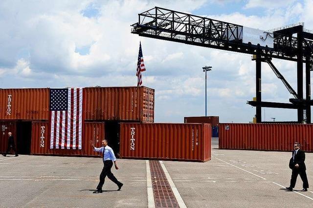 Für Präsident Obama hat TTIP keine Priorität