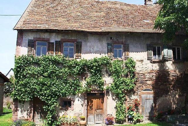 600 Jahre altes Haus wird in Vogtsbauernhof versetzt