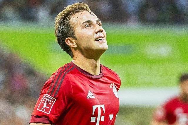 FC Bayern: Gerüchte um Götze und Guardiola nerven