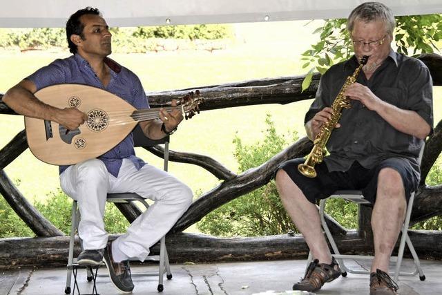 Frank Goos und Shaffan Soleiman in Emmendingen