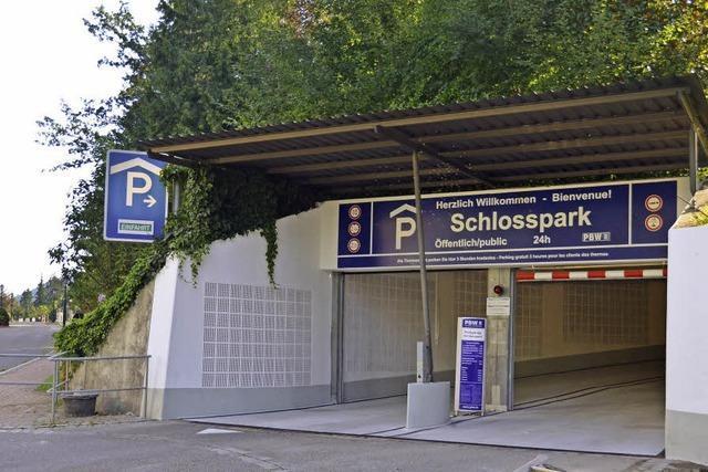 Parkhaus wieder (fast) voll nutzbar