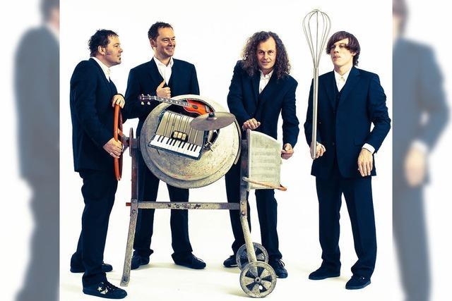 Acoustic Fun Orchestra auf dem Rathausplatz