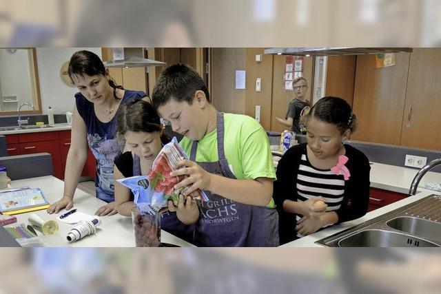 Kinder auf kulinarischer Reise