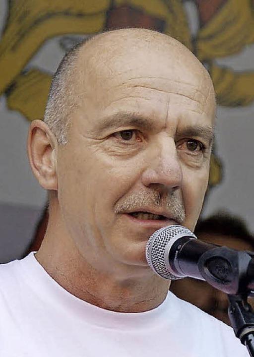 Selbst ein überzeugter Vereinsmeier: Der Ehrenamtsbeauftragte Lothar Winterle.   | Foto: Archivfoto: Sylvia-Karina Jahn