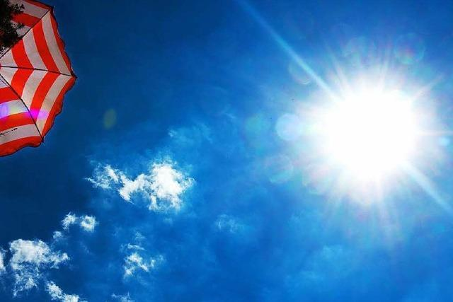 Hitzerekord am Hochrhein: 40,0 Grad Celsius
