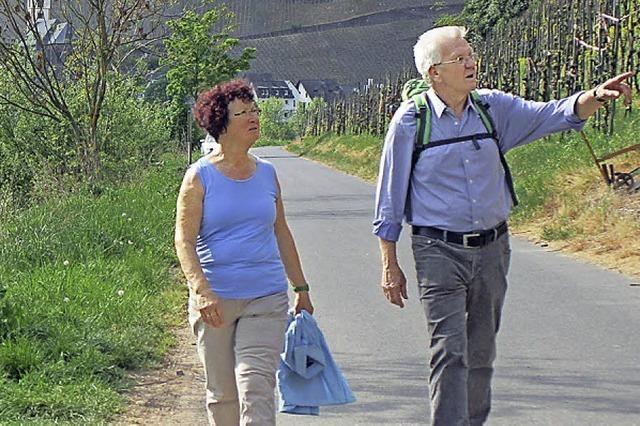 Wandern mit Kretschmann