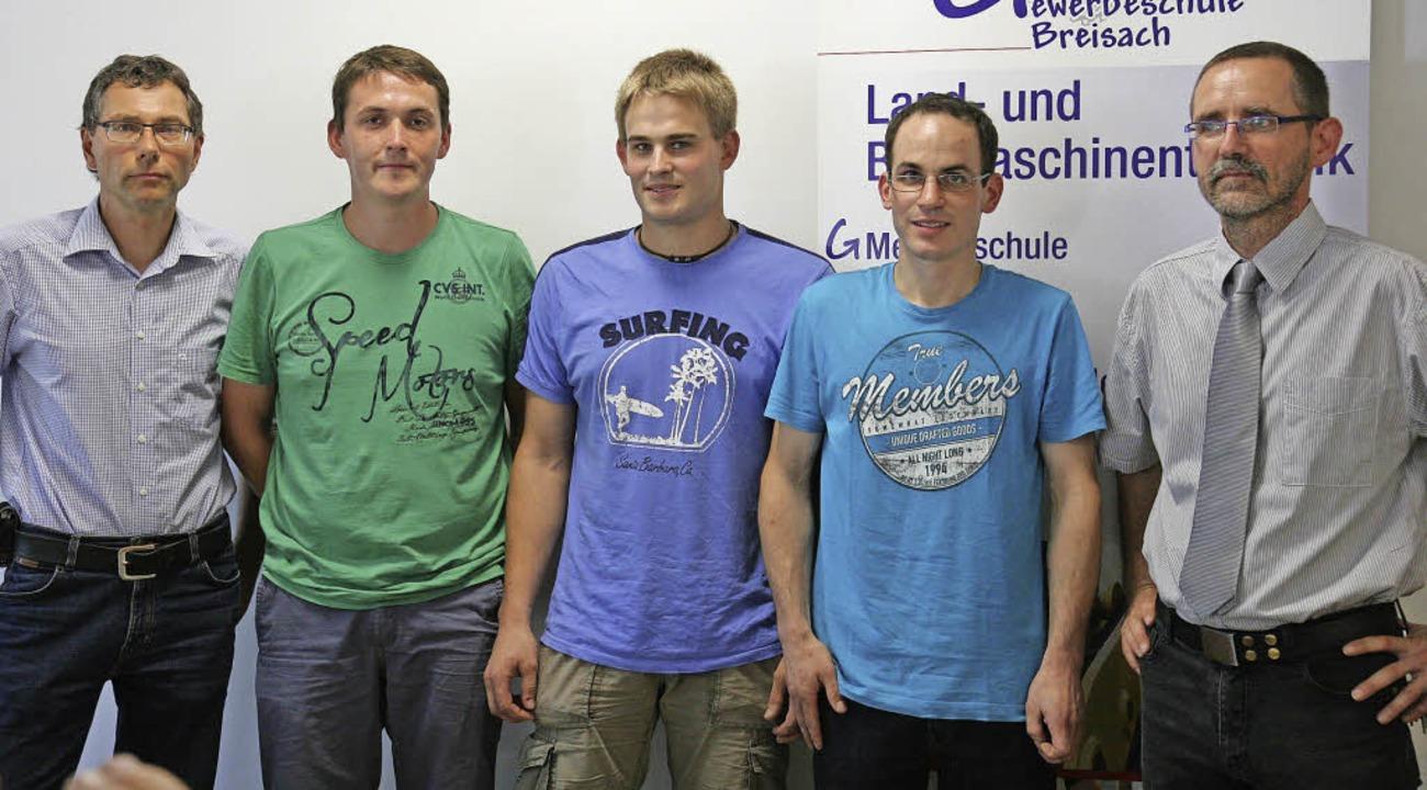Der stellvertretende Leiter der Breisa...r   und  Sebastian Winter (von links).  | Foto: Markus dold