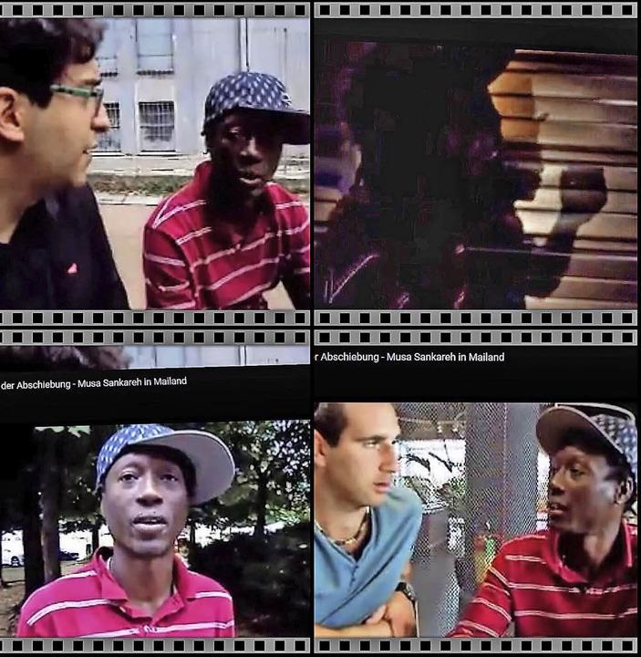 """Screenshots aus dem Film """"Das Le...orm Youtube kann er angeschaut werden.    Foto: zvg/Grafik:  Ruda"""