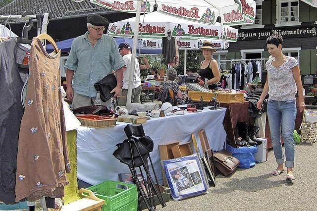Flohmarkt im Hofgut Himmelreich
