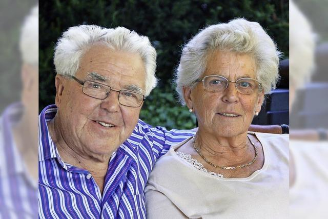 Elisabeth und Kurt Kiefer feiern ihre Diamantene Hochzeit