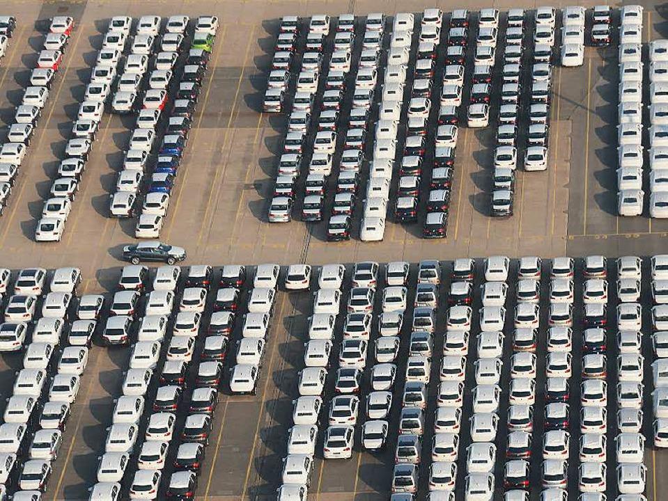 Auch deutsche Autos sind Exportschlager  | Foto: Marcus Brandt