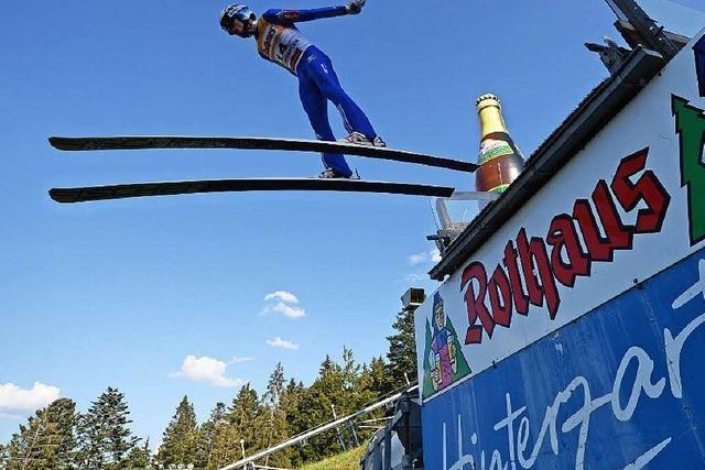 Sommer-Grandprix der Skispringer in Hinterzarten