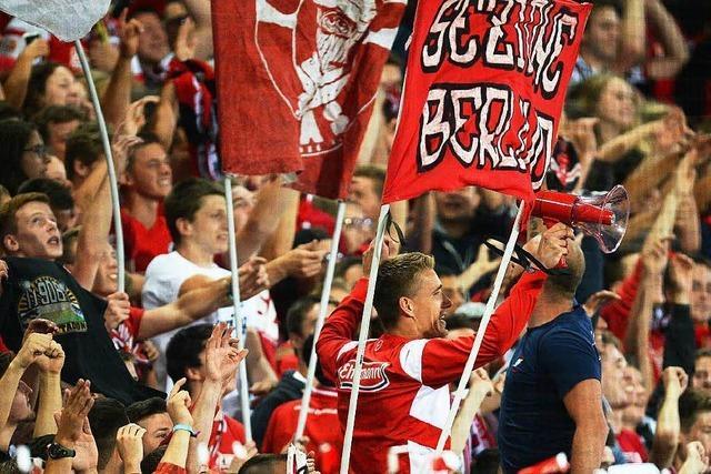 SC-Fans wünschen sich ein Stadion mit vielen Stehplätzen