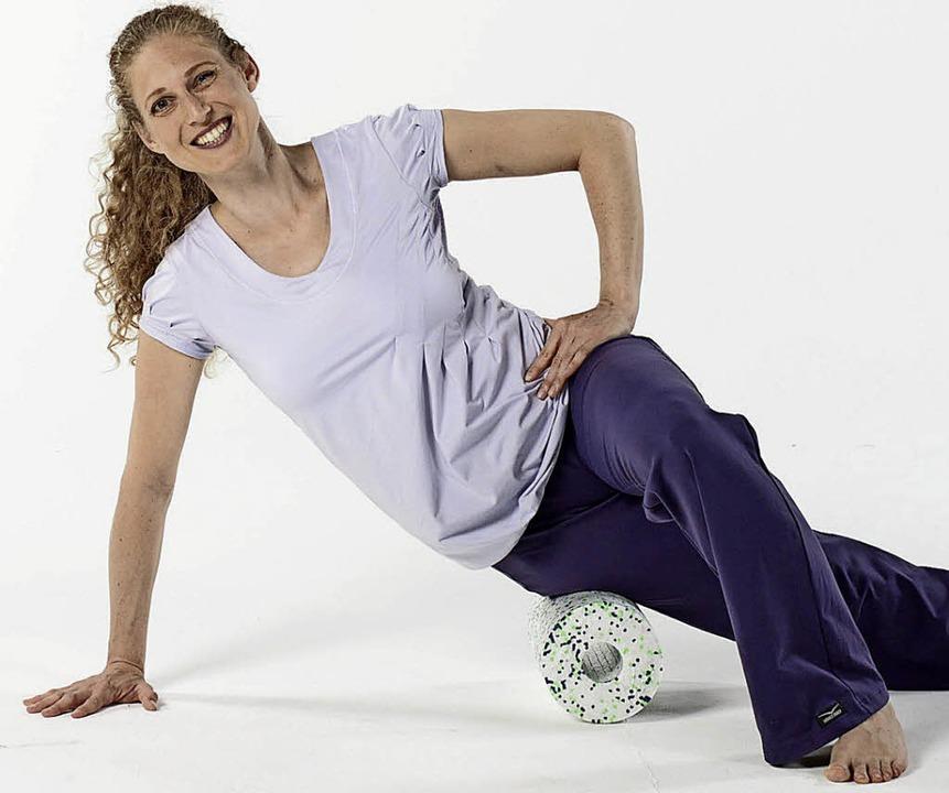 Training mit der Rolle  | Foto: fascial-fitness.de