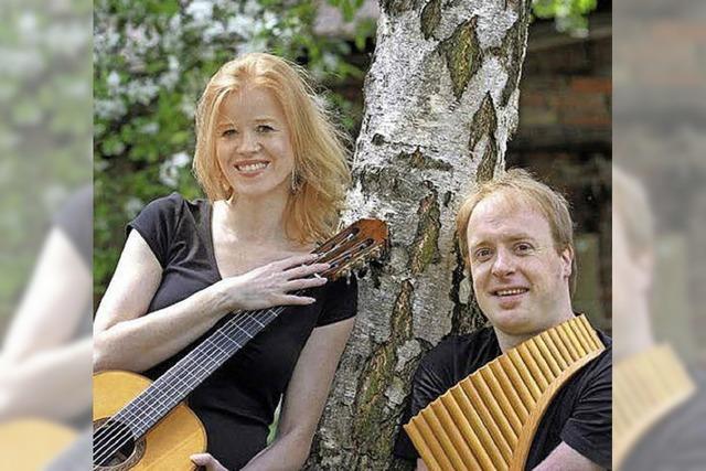 Panflöte und Gitarre in St. Märgen