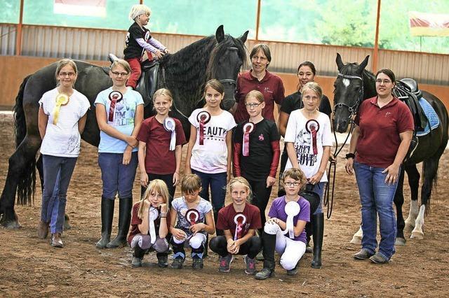 Kleine Reiter zeigen großes Können
