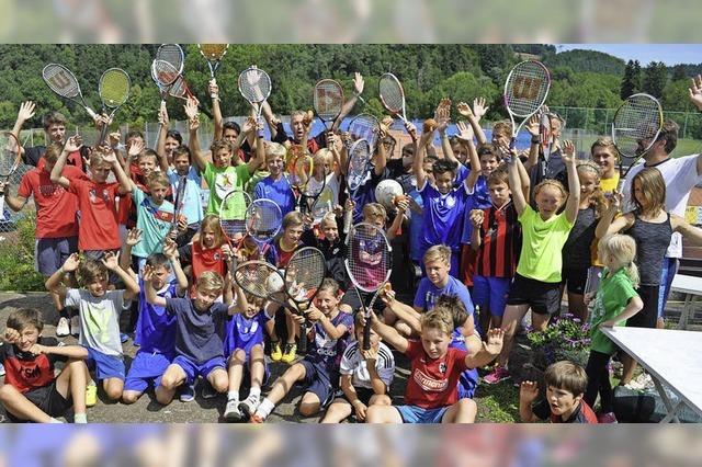 Tore, Volleys und Trommelklänge