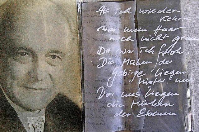 Das Schicksal und Wirken Alois Schnorrs