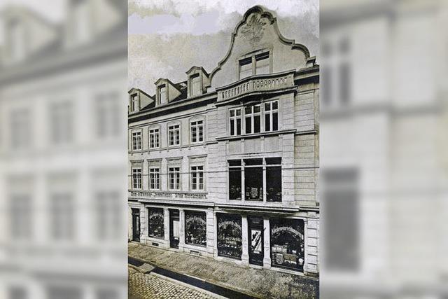 Die Firma Max Stockmann mit ihrem Geschäft in der Salzstraße war eins