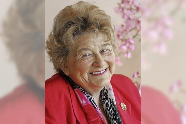 Altstadträtin und FDP-Urgestein Edith Goldschagg feiert 90. Geburtstag