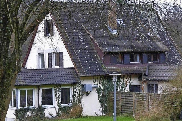Das neue Vereinsheim soll von zwei Seiten ebenerdig begehbar sein