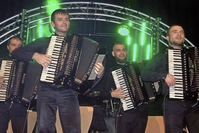 Concertino ließ 500 Zuhörer in Wehr vor Begeisterung toben