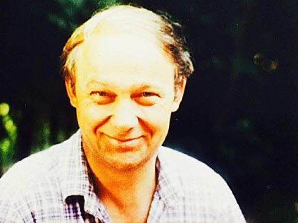 Der Vermisste Georg Wolf  | Foto: Polizei