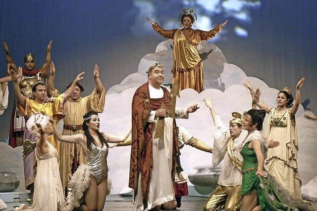 Orpheus in der Unterwelt im Gloria-Theater