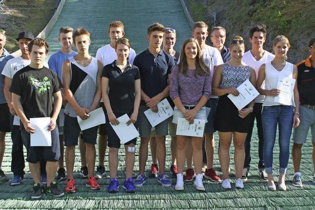 Skiverband Schwarzwald ehrt seine besten Sportler