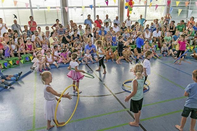 Buntes Programm im Zirkus Vinzentino
