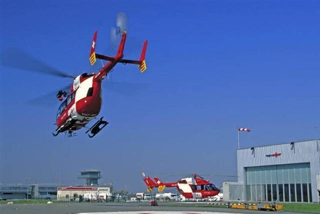 Rettungsflieger geben Einblicke