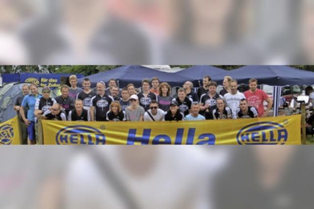 Hella-Teams beim Megathlon