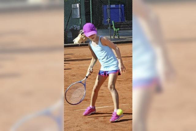 Tennis will gelernt sein