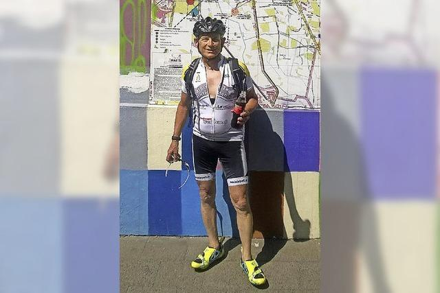 In sieben Tagen 1100 Kilometer