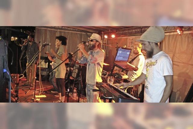 Mit Alphorn und Reggae in Klein-Jamaika