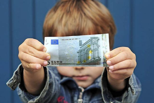 So geben Kinder ihr Taschengeld aus