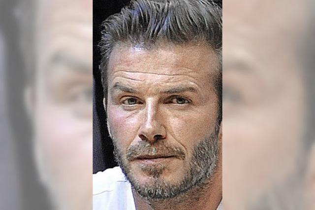 Beckham und der Schuller