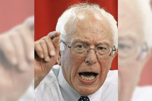Bernie Sanders: Der Mann, der rüberkommt wie ein ungemachtes Bett
