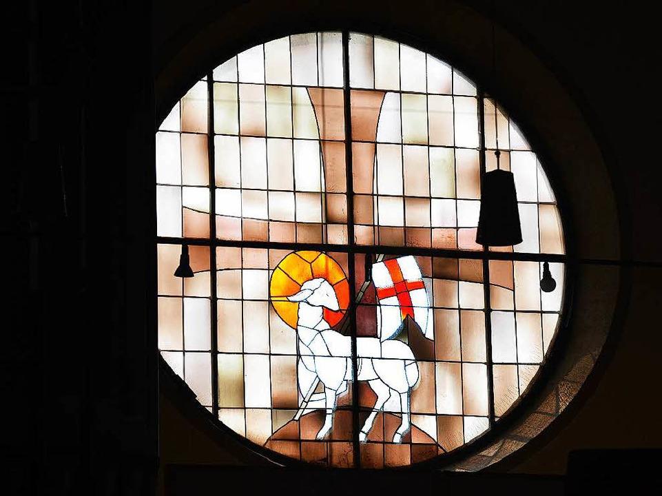 Glasfenster in der Lutherkirche  | Foto: Rita Eggstein