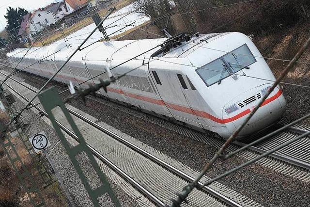 Müllheim und Auggen werden gegen Bahnpläne klagen