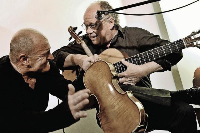 Duo Burr & Klaiber im Kehler Rosengarten