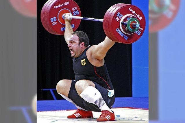 Gewichthebertag mit Superschwergewichtler Amir Velagic