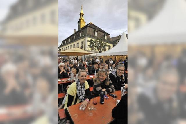 Weinfest am Wochenende