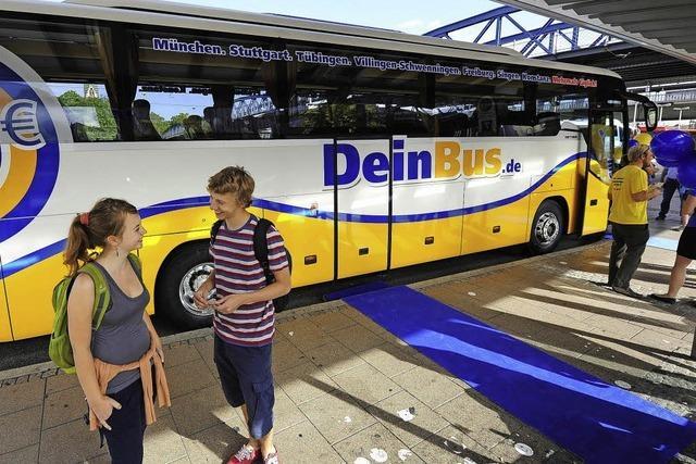 Im Fernbus nach Mailand und Köln