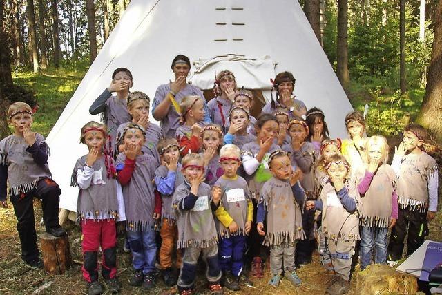 Indianer belagern den Vogtsberg