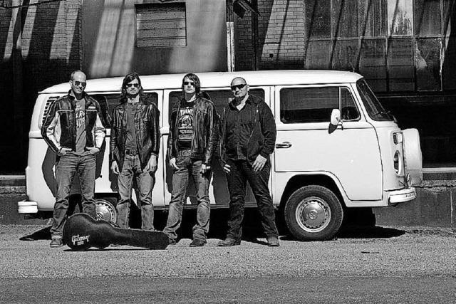 Die Mundart-Rockband Volume 6 tritt in Zell-Gresgen auf