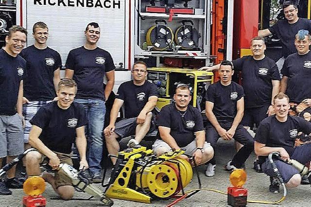 Rickenbacher Feuerwehrmänner erfolgreich