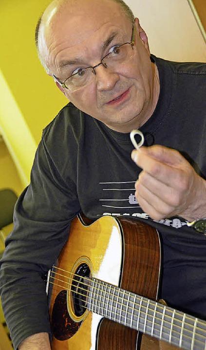 Gitarrenvirtuose Jacques Stotzem  | Foto: MIchael Krug